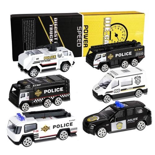 Modellini auto e mezzi Polizia