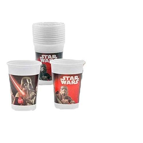 20 Bicchieri Star Wars di Darth Vaders