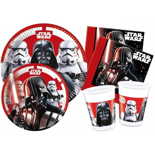 Kit compleanno 24 persone Star Wars