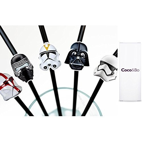 10 Cannucce Star Wars, accessorio per feste