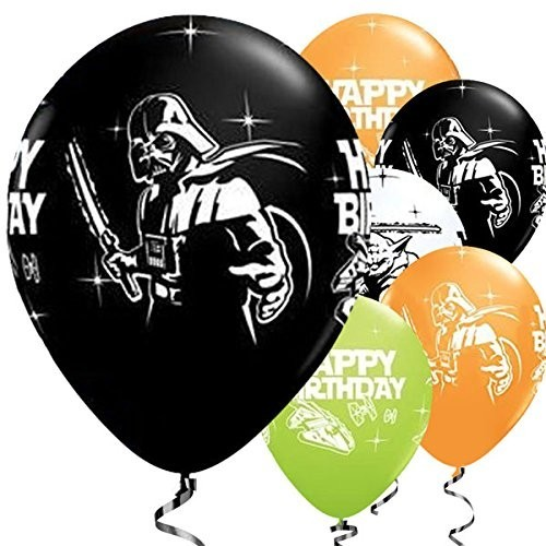 25 palloncini Star Wars
