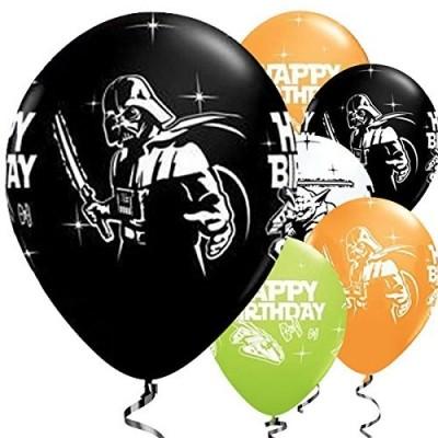25 palloncini Star Wars