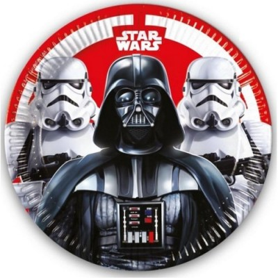 Procos IRPot - KIT N 46 STAR WARS COORDINATO COMPLEANNO
