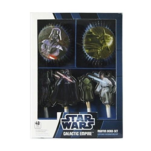 48 decorazioni per dolci Star Wars