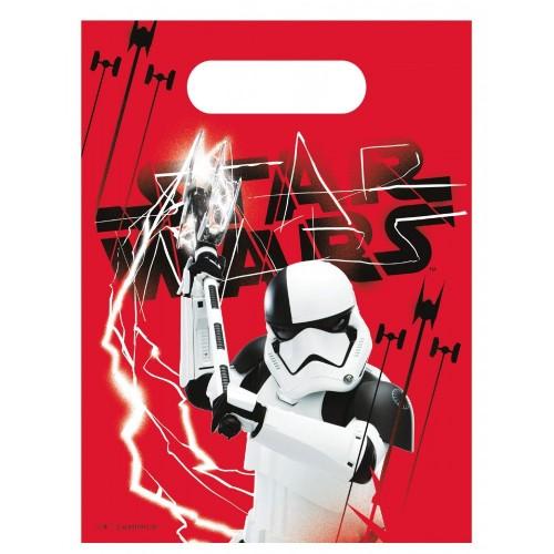 72 Sacchetti Star Wars 8  da 23 x 16,5 cm, gadget per feste