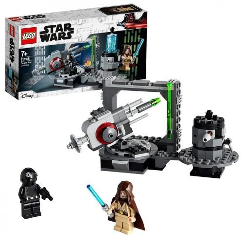 LEGO Star Wars tm  Cannone della Morte Nera 75246, Parti per una Nuova Avventura Galattica a Bordo della Potente Morte Nera,