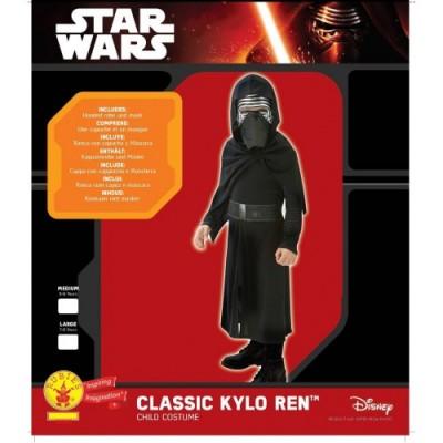 Rubies - Costume Carnevale Halloween Kylo Ren Star Wars Classic, Misura M, 5-6 anni