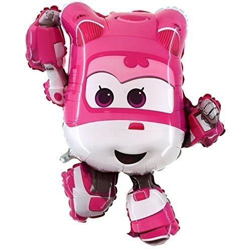 Palloncino Dizzy - Super Wings , supershape foil