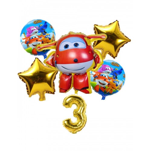 Bouquet Super Wings - palloncini per feste