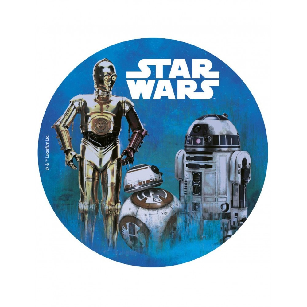 Cialda in ostia Star Wars