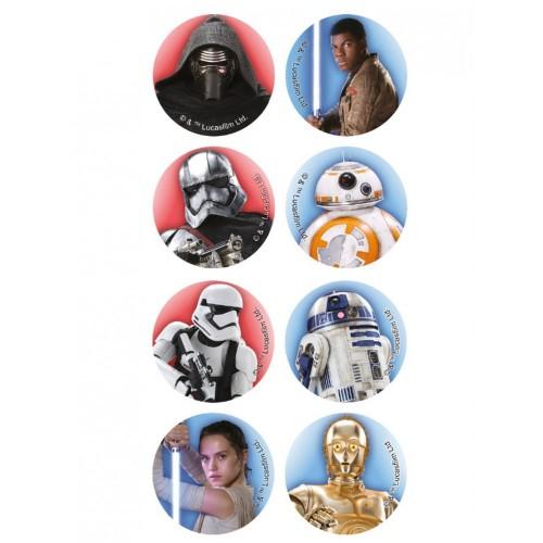 16 mini cialde Star Wars