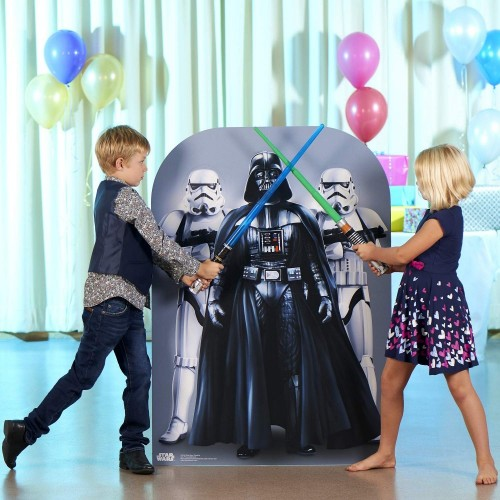 Photo Booth Darth Vader e Stormtrooper - Star Wars