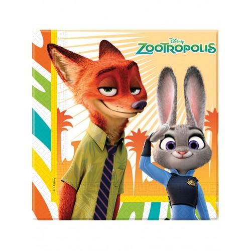 Tovaglioli Zootropolis