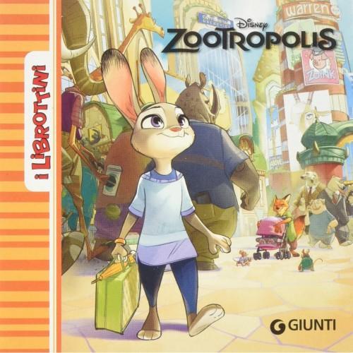 Libro Zootropolis, edizione illustrata