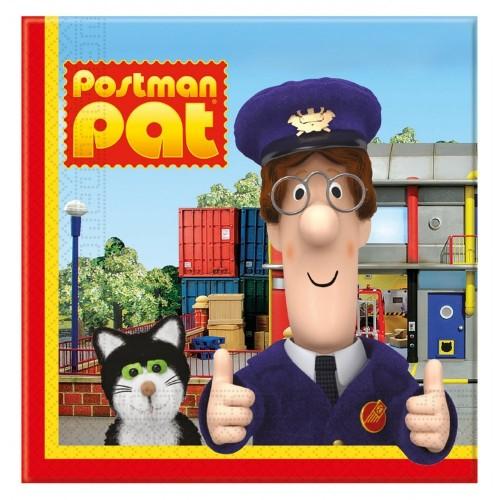 Tovaglioli di carta Postino Pat