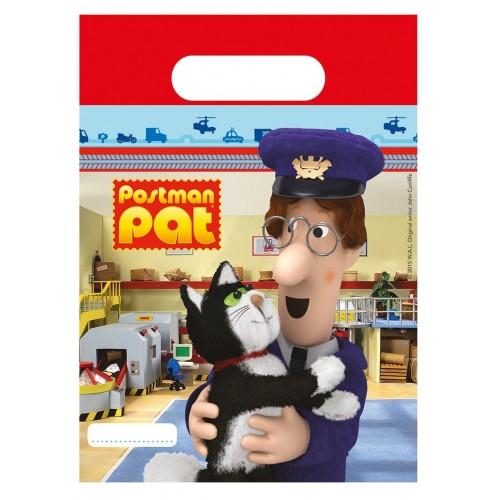 Sacchetti per feste Postino Pat