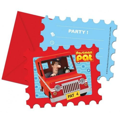 Inviti compleanno Postino Pat