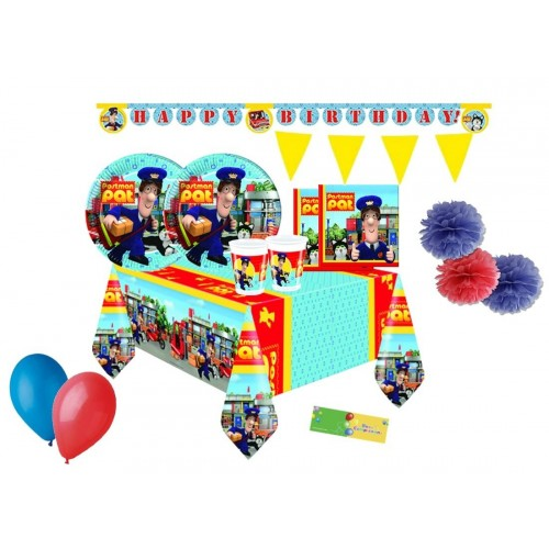 Kit compleanno 40 persone Postino Pat