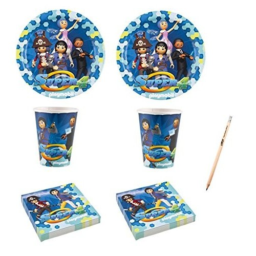 Kit 16 persone Playmobil, set per feste originali