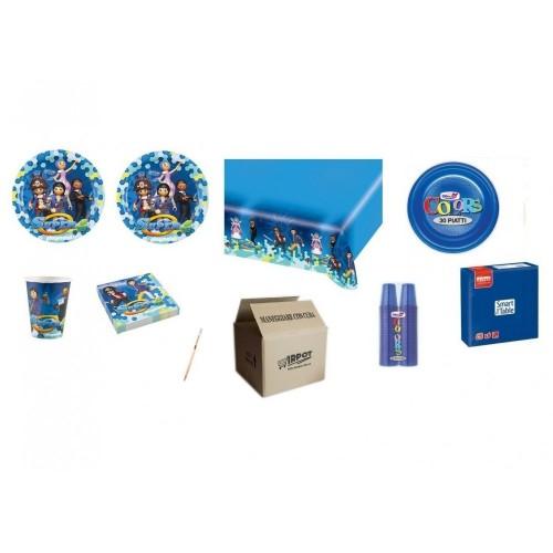 Kit compleanno Playmobil + monocolore