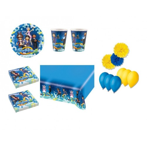 Set tavola Playmobil con accessori
