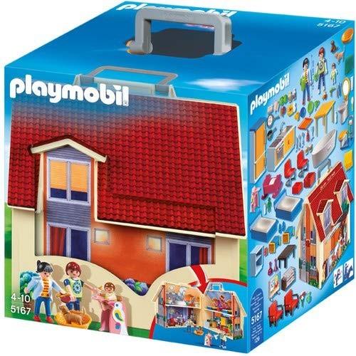Playmobil - Casa delle Bambole Portatile - Gioco per bambini