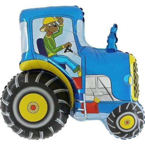 Foil trattore blu