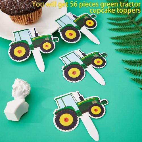 Toppers cupcake trattori