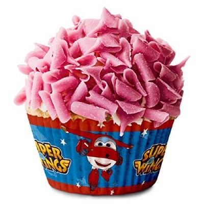 Pirottini Super Wings per cupcake e dolci