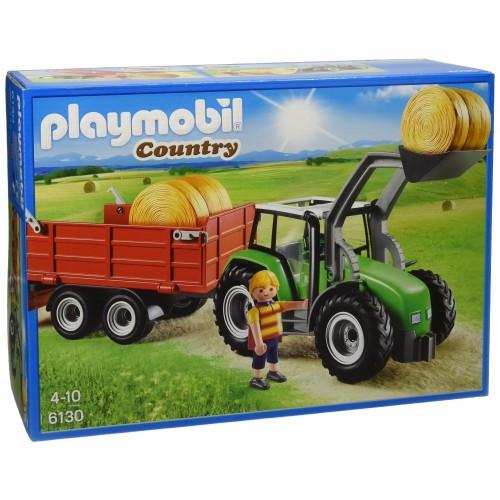 Playmobil - Trattore Con Rimorchio