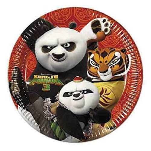 Piatti Kung Fu Panda