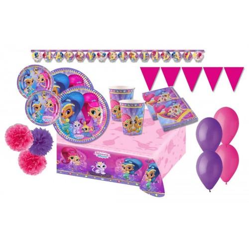 Kit compleanno per 8 persone di Shimmer e Shine