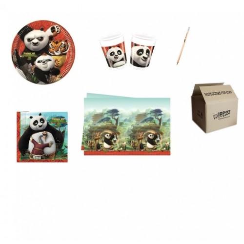 Kit per 32 persone Kung Fu Panda