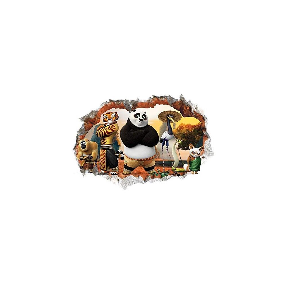 Decorazioni Camera Da Letto adesivo decorazione camera kung fu panda, poster per feste, idea regalo