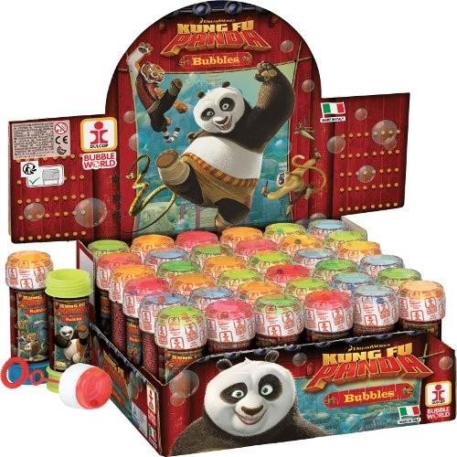 36 bolle di sapone Kung Fu Panda