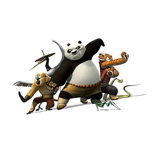 E-X Kung Fu Panda Edible Cake Topper Frosting 1/4 Sheet Birthday Party by