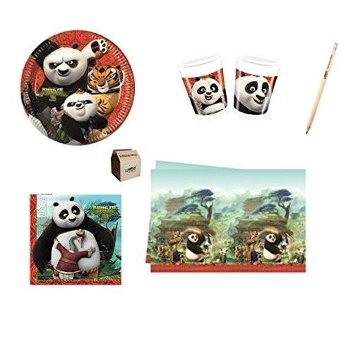 Coordinato 40 persone Kung Fu Panda