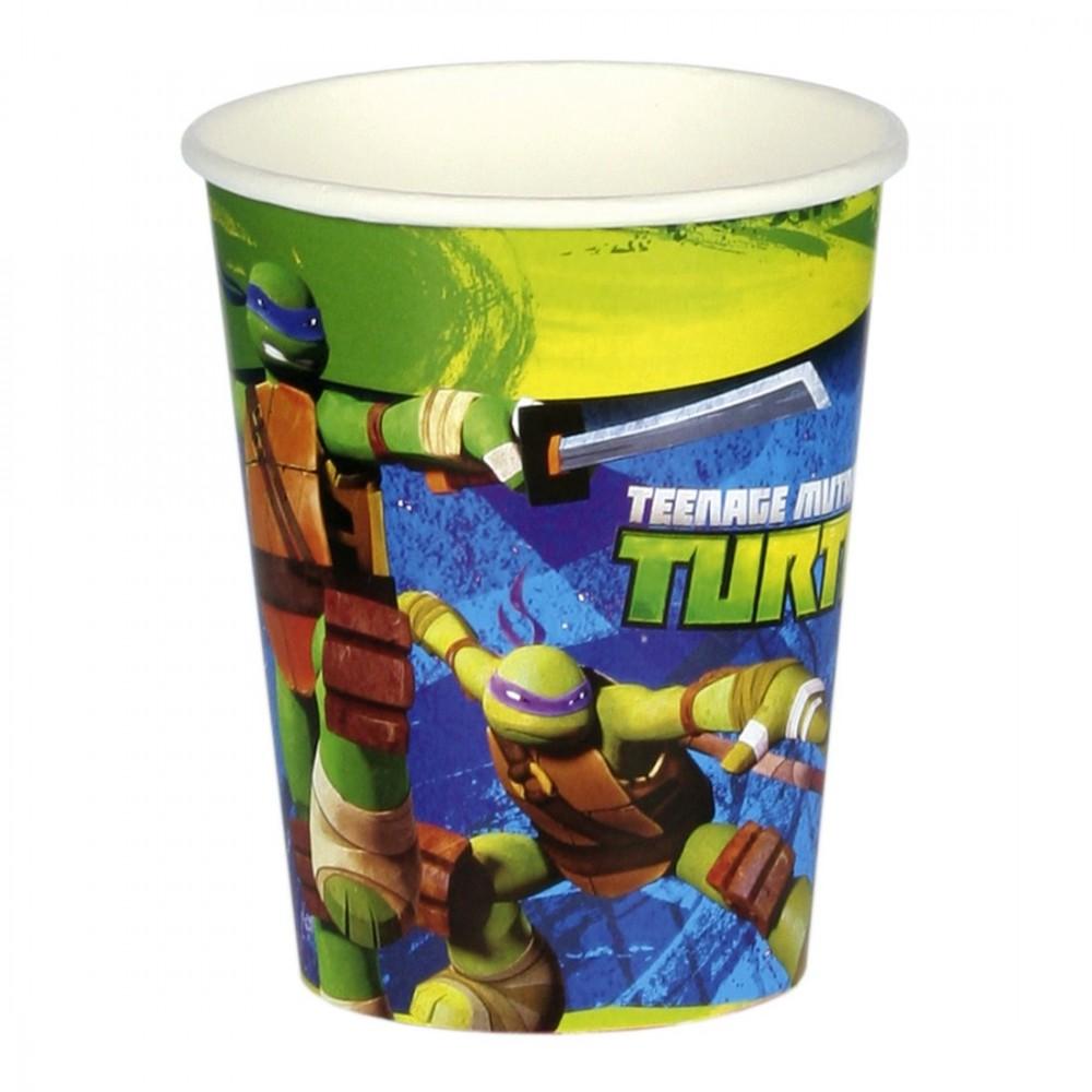 Bicchieri Tartarughe Ninja