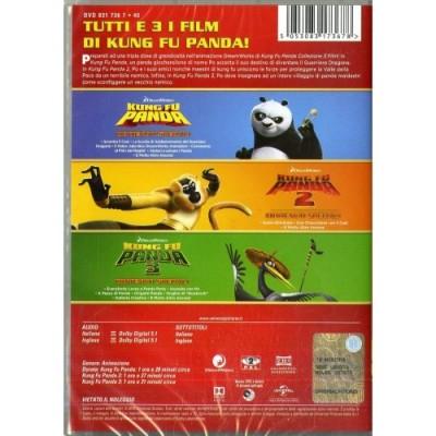 Kung Fu Panda 1,3  Box 3 Dvd