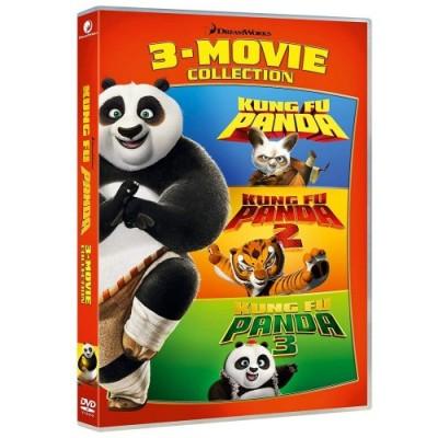 DVD Kung Fu Panda serie completa, 3 film
