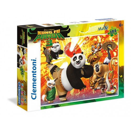 Puzzle Kung Fu Panda 3 - Clementoni