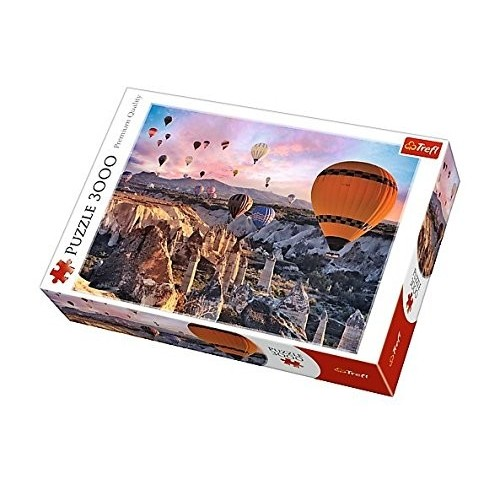 Puzzle tema Mongolfiere
