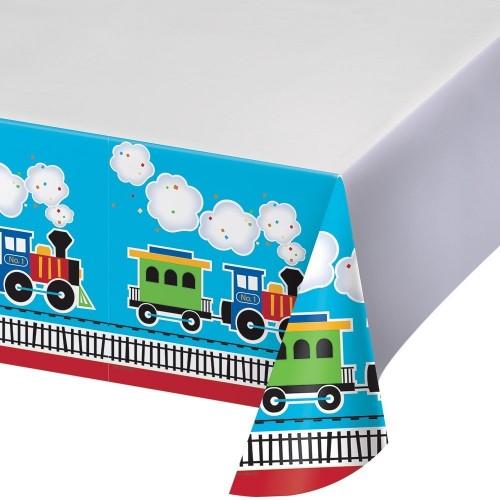 Tovaglia tema trenino - locomotiva