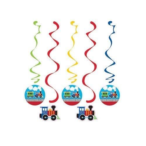 Festone pendente trenino - locomotiva