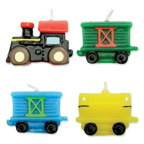 Candele trenino - locomotiva
