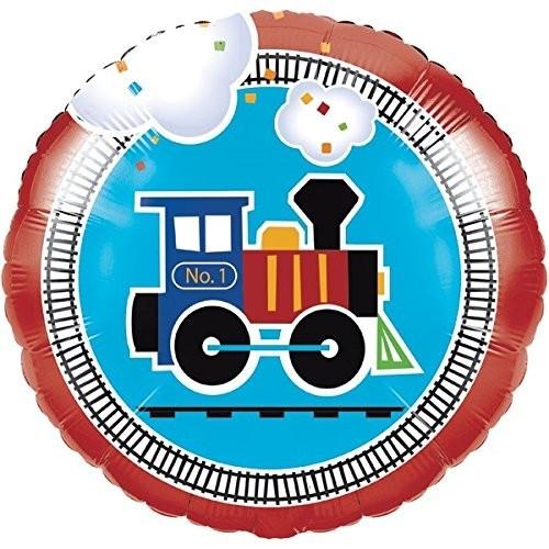 Palloncino foil trenino - locomotiva