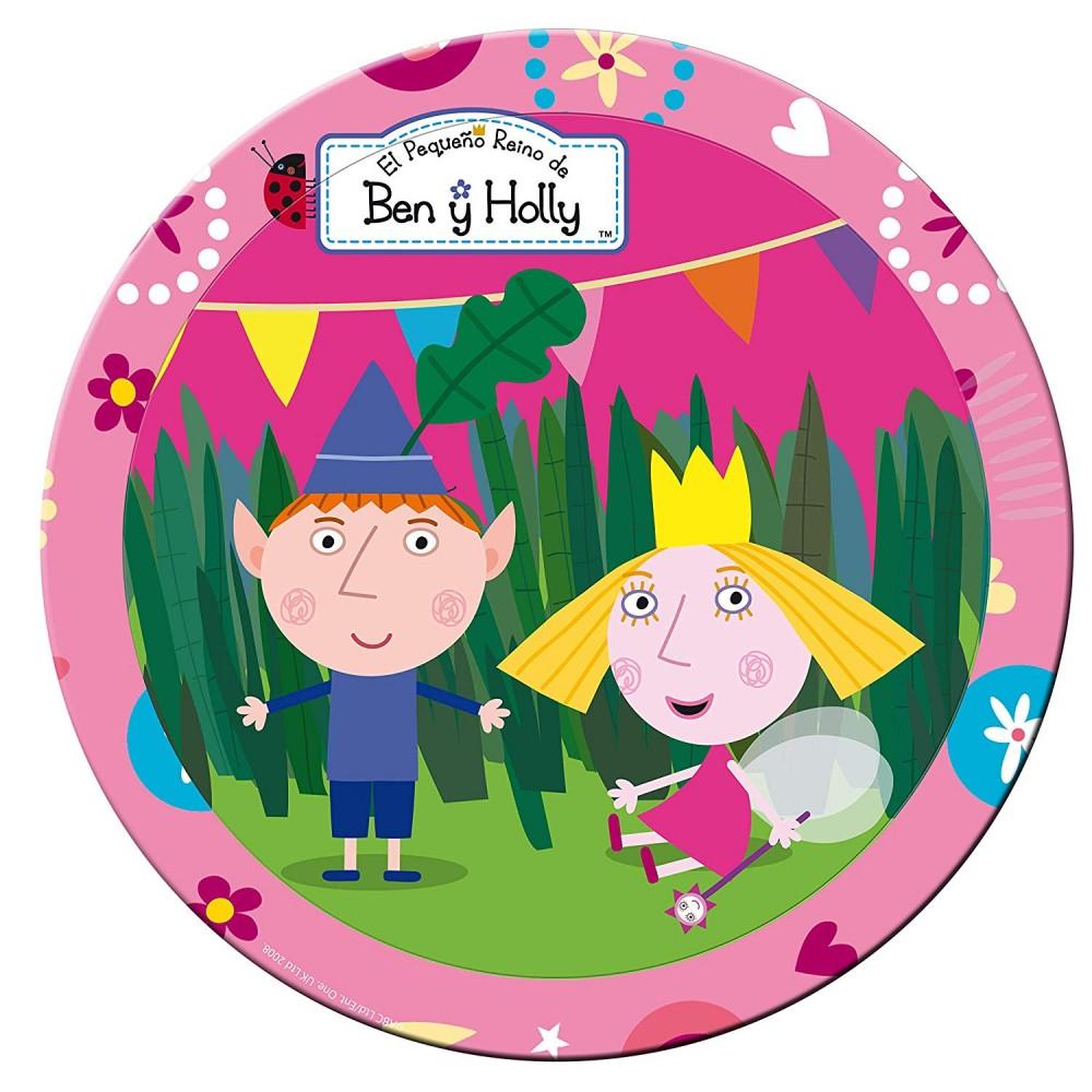 Piatti di Ben e Holly