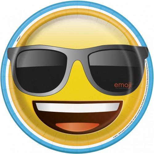 Piatti di Carta Emoji  Smile