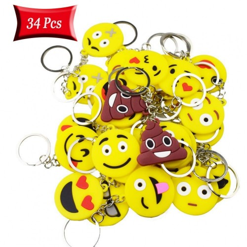 Portachiavi Emoticon - 34 gadget