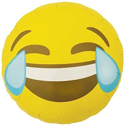 Palloncino Emoticon Smile Lacrime dal ridere